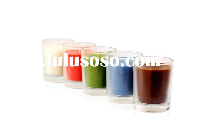 Scented Home Decorative Glass Jar Candle