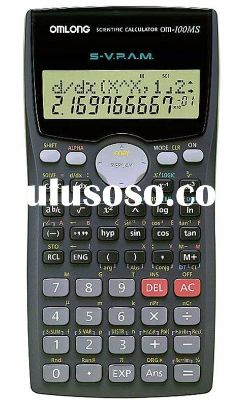 Scientific Calculator OM-100MS