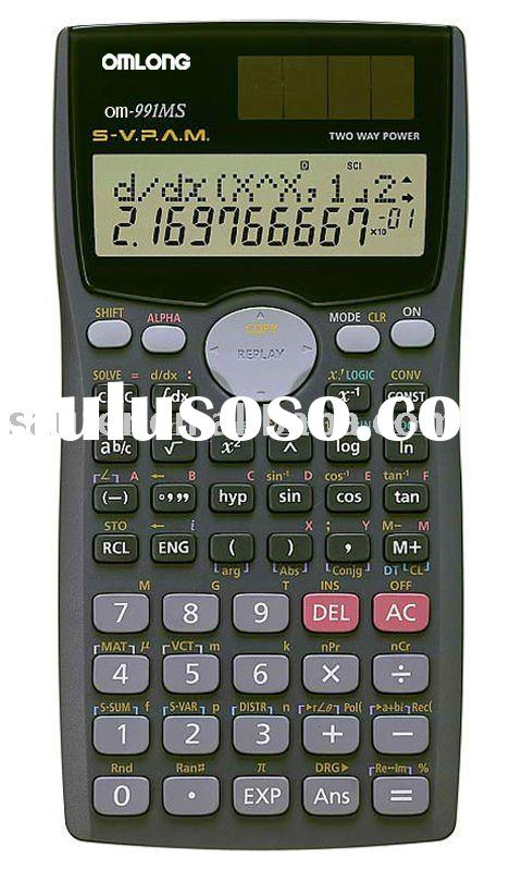Scientific Calculator OM-991MS
