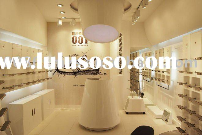 Shoe display fixture & store design