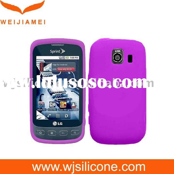 Silicone skin case cover for LG Optimus S LS670