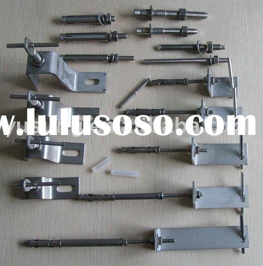 Stone cladding fixing,Marble bracket,stainless steel bracket,stone anchor, marble anchor,granite anc