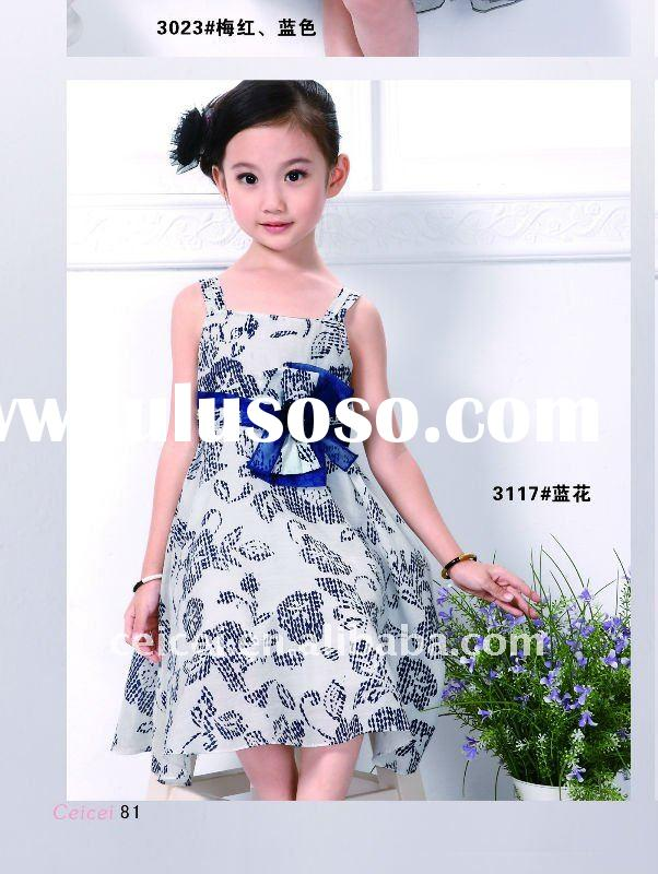 Sweet princess flower girl's dress
