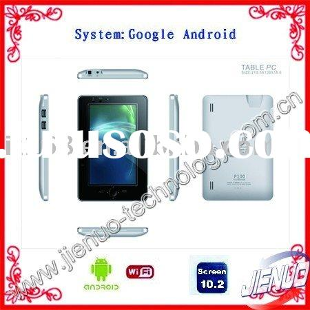 Tablet PC: Google Android OS+Touch Screen+internal 3G+Wifi+Office software++2GB Memory+Freeshipping!