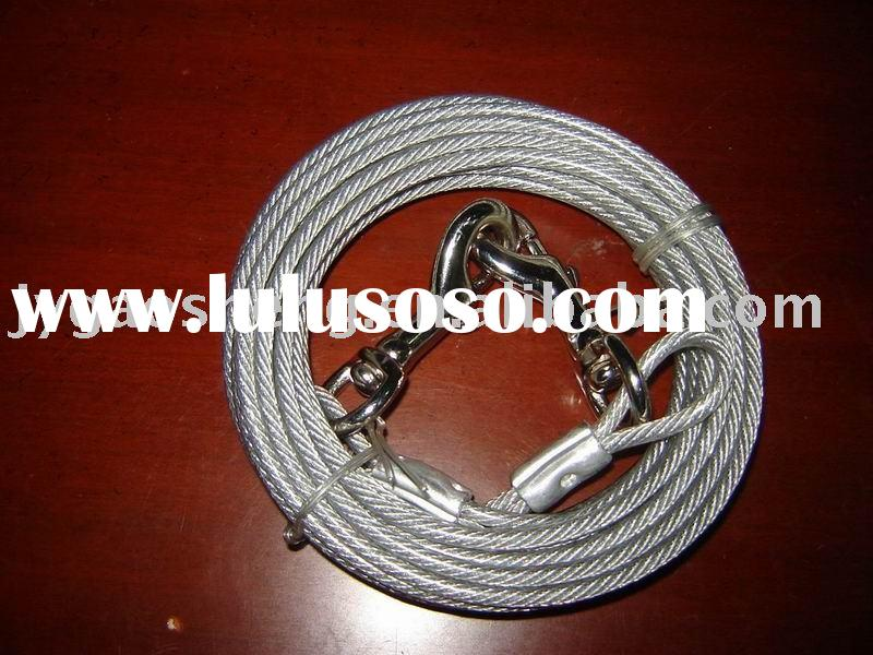 Tie-out cable, Tie Out Rope,Steel Wire Rope (ISO certificate)