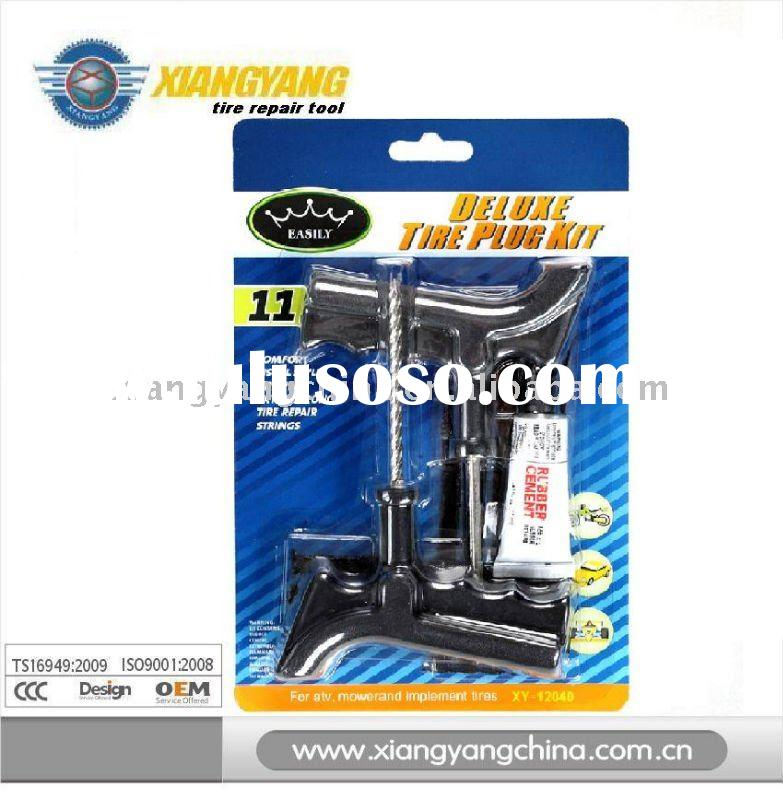 Tire Plug Kit tire repair tool tyre repair tire repair products pistol grip plugger pistol grip ream