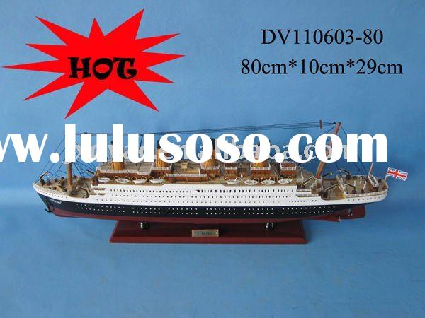 Titanic wooden model boat / Hot sale model