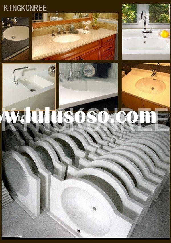 Top-Quality Solid Surface Vanity Top Sink & Corian Wash Basin
