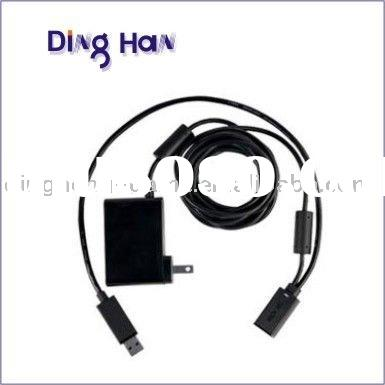 USB AC Adapter Power Supply Charging Cable for XBOX360 Kinect