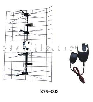 VHF/.UHF Amplified Outdoor TV antenna Item no. SYN-003
