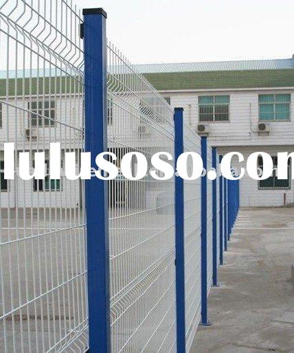 Vinyl Coated Welded Wire, Powder coated wire mesh fence, Sportsground Fencing