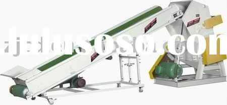 Waste plastic bottle crusher