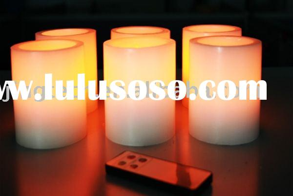 Wax LED Candle, DuraCandle Timer