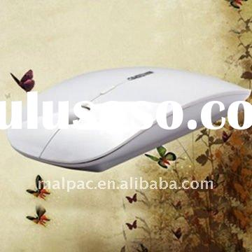 White USB Wireless Optical Mouse