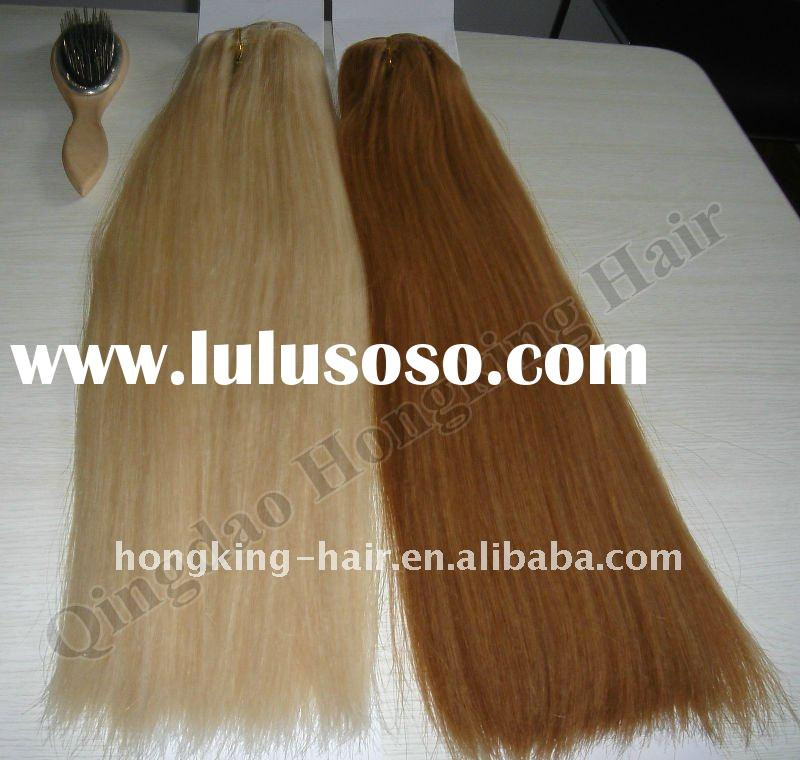 """Wholesale 20"""" 100% Natural Human Hair Clip In Extensions"""