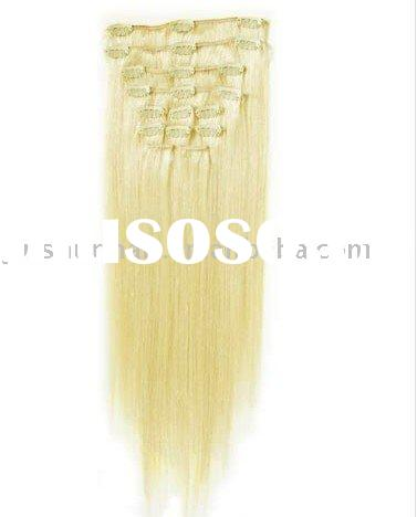 Wholesale Clip Human Hair - Lightest Stock Clip hair Extension