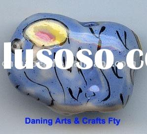 Wholesale animal ceramic bead porcelain beads jewelry beads