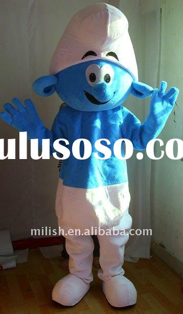 Wholesale factory cartoon Smurfs Mascot costumes MAE-0114