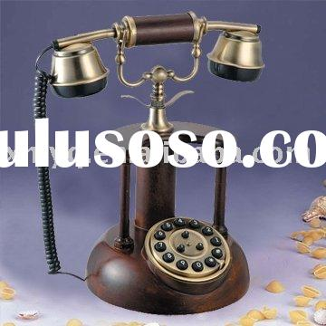 Wooden Reproduction Antique Telephone