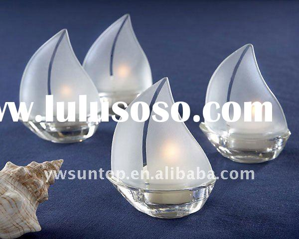 Hanging Glass Tealight Holders Transparent For Sale
