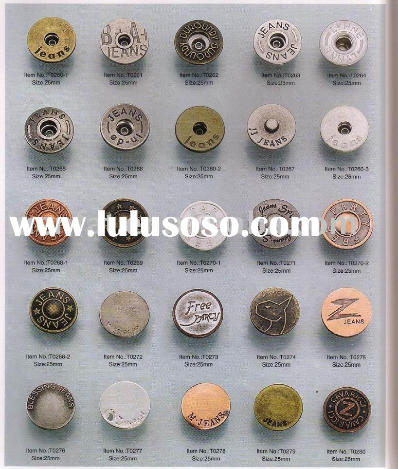 abs buttons,fashion buttons,jeans buttons
