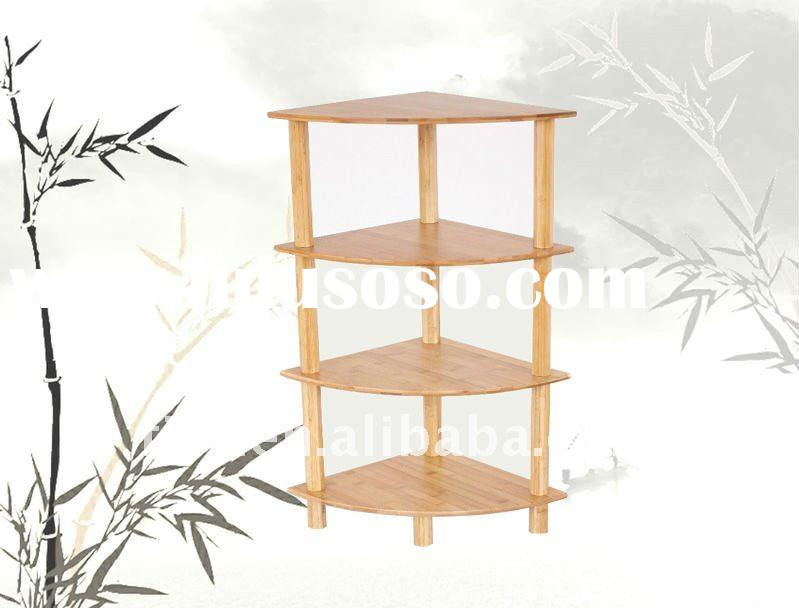 bamboo flower pot rack / stand