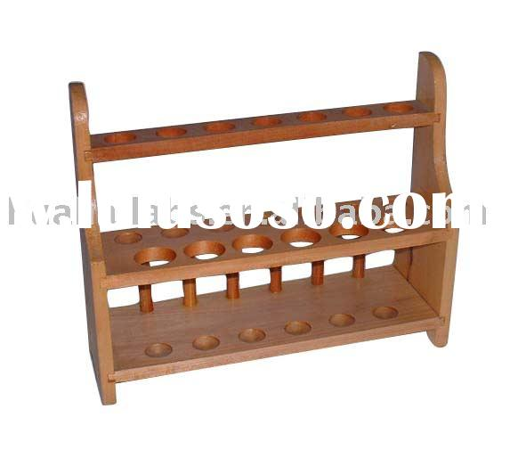 chemistry, lab supplies, laboratory equipment, physic, biology, lab glassware, wooden test tube rack