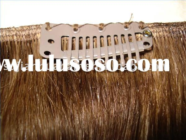 clip in hair extension/clips on hair extension/hair extension/wholesale supply