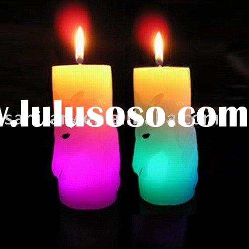 color changing candle,artistic candle,holiday candle,christmas decoration,led holiday light,magic le
