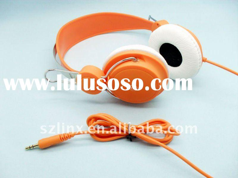 colorful fashion design headphones, music headphone for Ipod/Iphone
