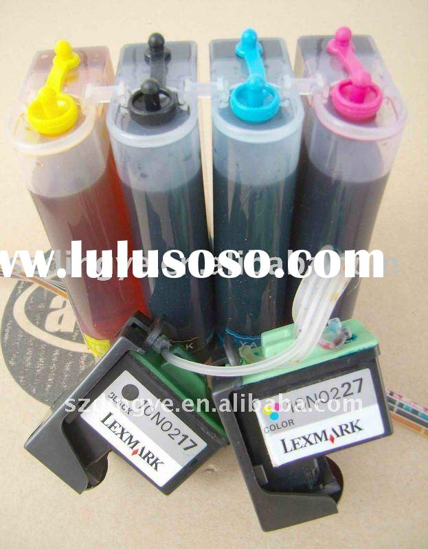 continuous ciss ink refill system for lexmark 17/27