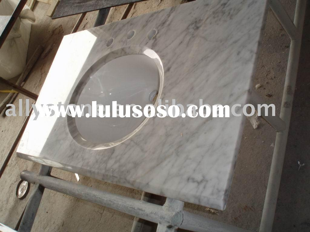 cultured marble vanity tops-bathroom vanity top-with ceramic sinks