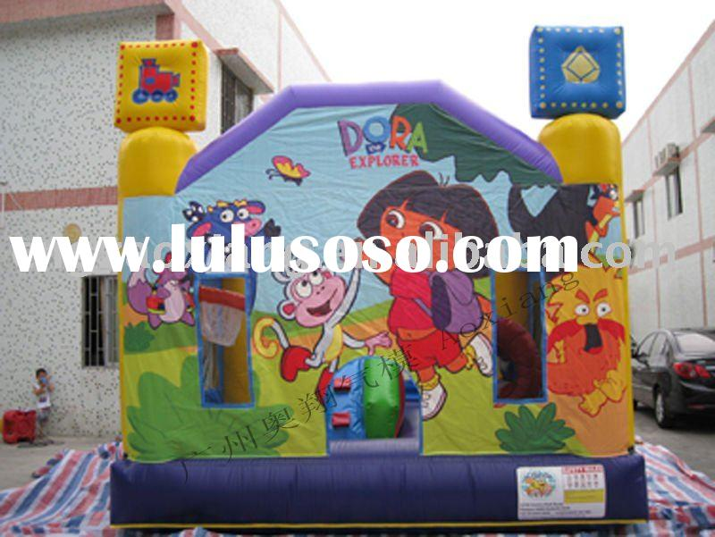dora inflatable bouncer castle