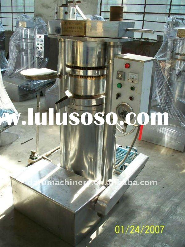 edible oil presser machines in high oil extracting rate
