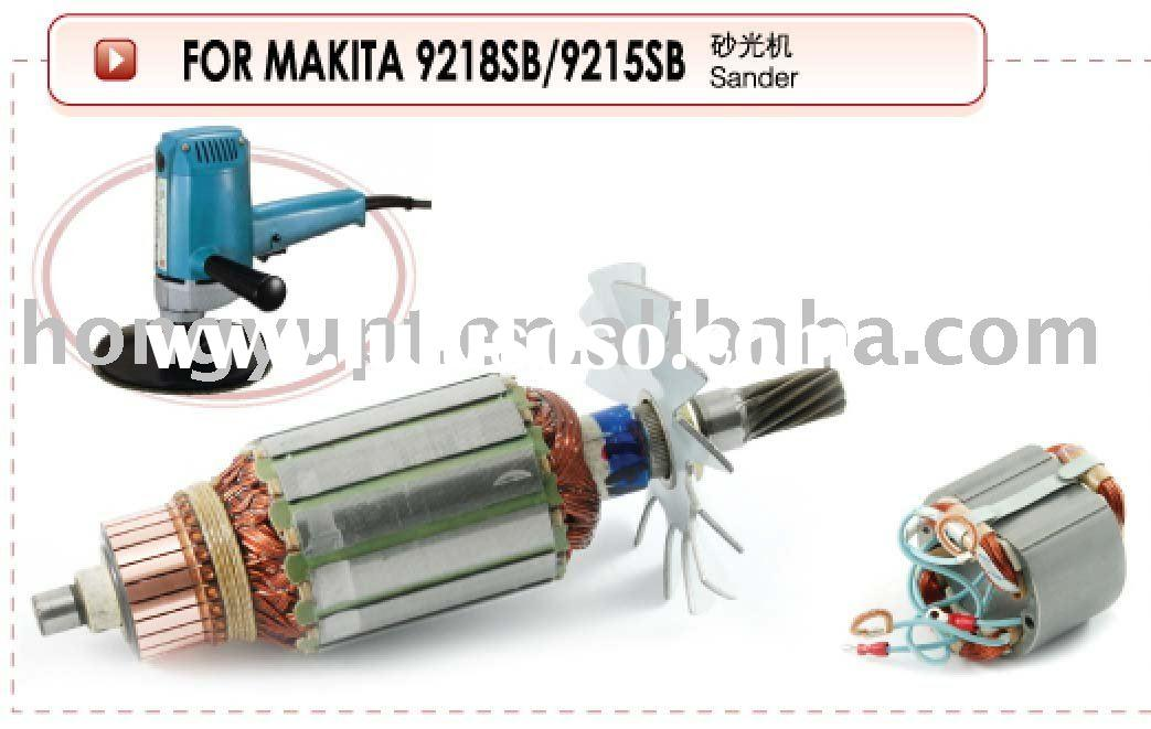 Power Tool Spare Parts Armature Rotor Stator Starter Field