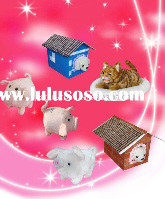 electronic pet,moving toy,runaway toy pig ,battery operated toy pig