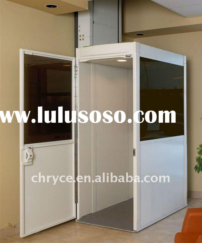 Glass shaft around home used residential elevators for for House elevator for sale