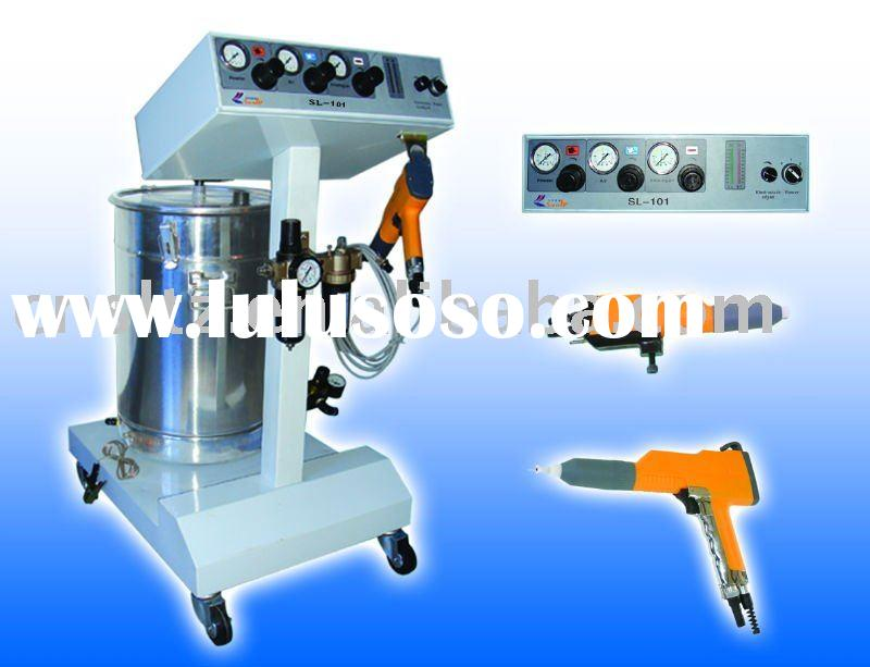 entire set manual spray painting electrostatic gun for coating machine
