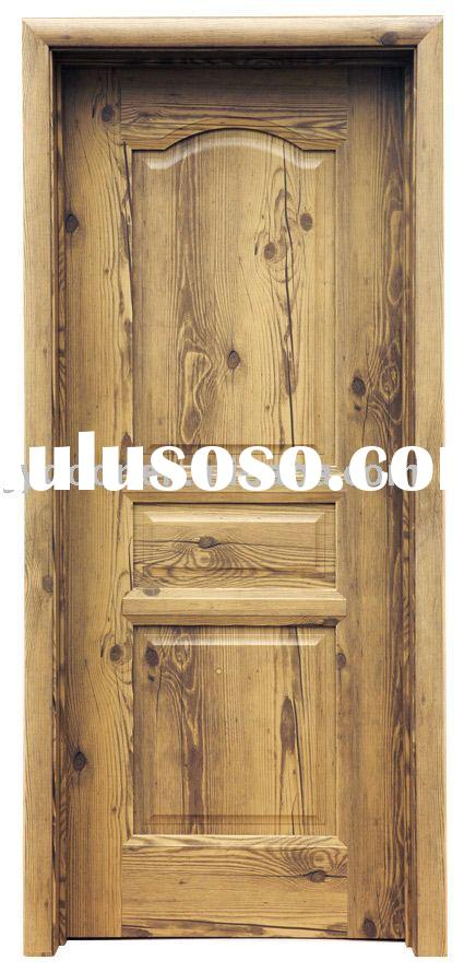 fashional eco-friendly cheap solid wood imitation door