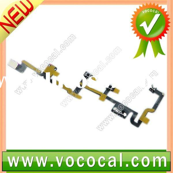 for iPad 2 2G Audio & Power Button Flex Cable Ribbon, 3G Version