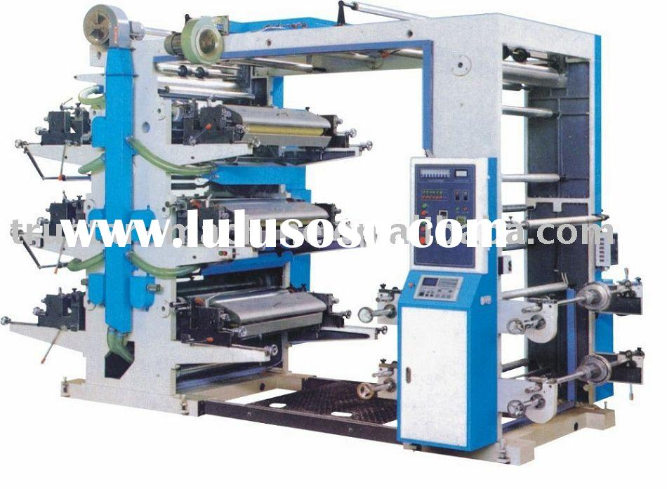 full auto computer control flexographic printing machines