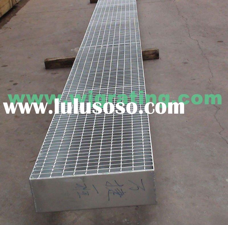 galvanizd mild steel grating for trench cover and platform