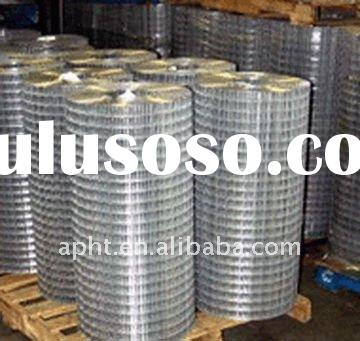 galvanized and pvc coated welded wire mesh (factory)