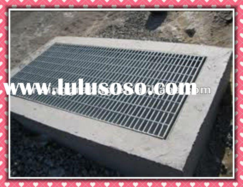 galvanized floor grates drain with frame stainless steel or mild steel