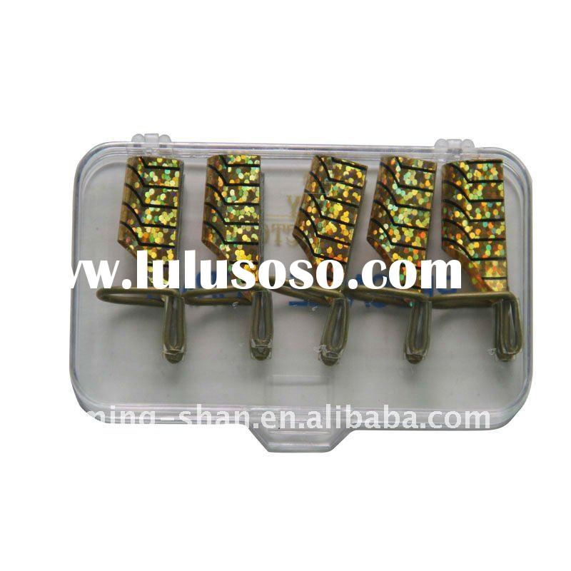 gold color reusable nail art form factory