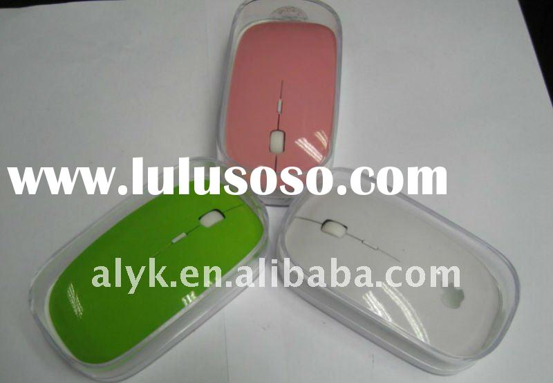 good quality of I pad 2.4g wireless mouse,pink,yellow,white,green