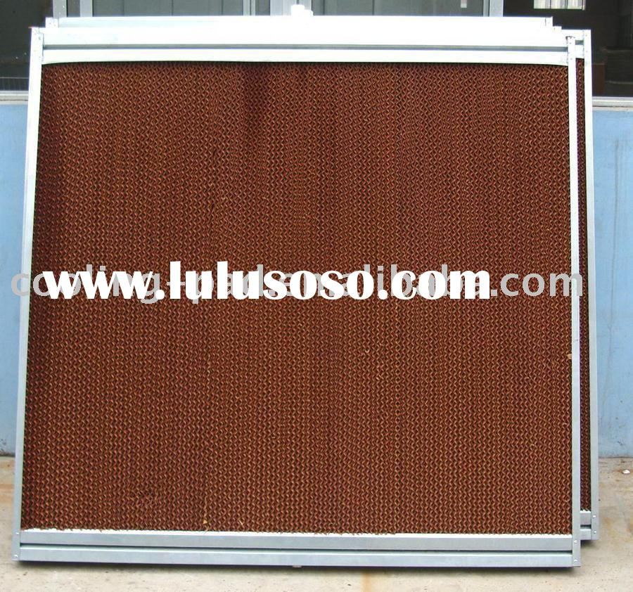 greenhouse evaporative cooling pad (cellulose cooling pad) 3C certificate