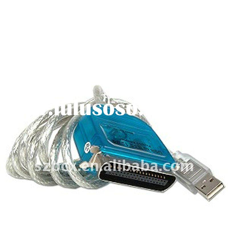 high quality USB TO DB25 Male Parallel Printer Cable