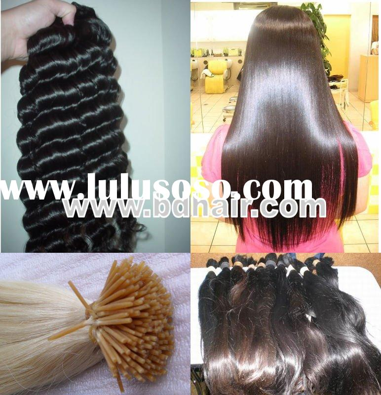 human hair extensions/ 100% natural human hair