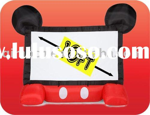 inflatable mickey mouse movie screen